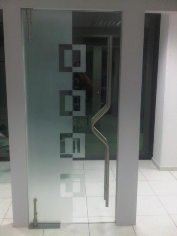 Porte vitr e tournai porte d 39 entr e ou int rieure en - Porte coulissante en verre opaque ...