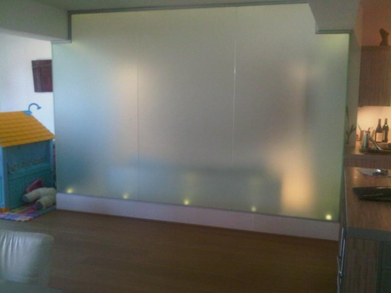 Vitrage de salle de bain parois de douche verre vitrerie tournai vitrerie tournai hainaut - Credence verre salle de bain ...